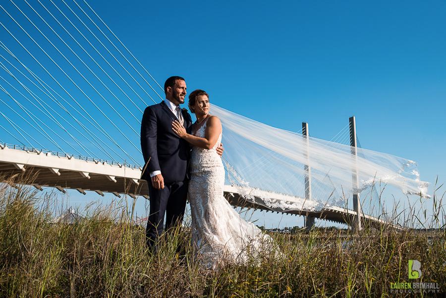 Indian River Life Saving Station Wedding Courtney Joe Lauren Brimhall Photography